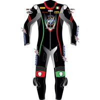 MV Agusta Corse Italia Sports Motorcycle Leather Suit